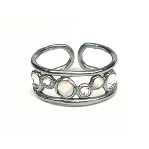 eSBe by Sara Blaine Dreamcatcher Ring Size 6-7